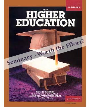 LDS Seminary Worth the Effort