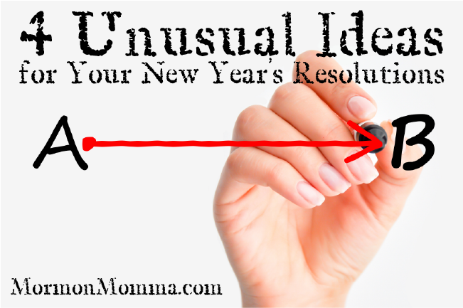 4 Unusual Goal Setting Ideas