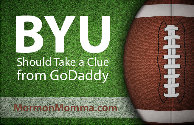BYU Should Take a Clue from GoDaddy