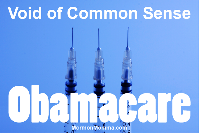 Obamacare - No Common Sense