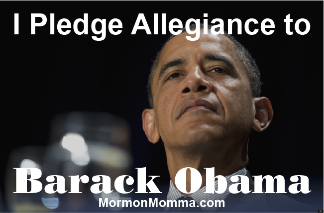 I Pledge Allegiance to Barrack Obama