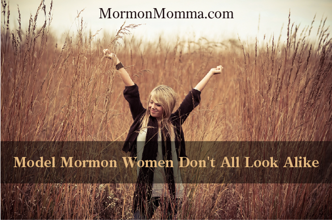 Model Mormon Women Don't All Look Alike