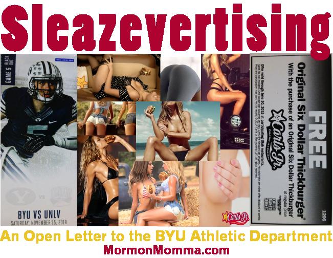 Carl's Jr. Sleazy Ads BYU