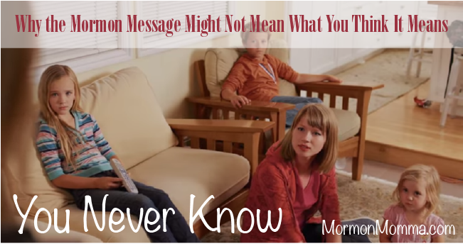 You Never Know - Mormon Message